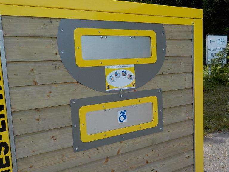 ecobox bois trappe PMR